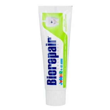BIOREPAIR® Junior 7/14 - pasta do mycia zębów do naprawy szkliwa dla dzieci w wieku 7-14 lat, bez fluoru, 75 ml