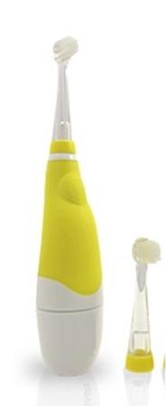 BRUSH-BABY Baby Sonic końcówki wymienne18-36-m-cy - główki czyszczące do szczoteczki sonicznej