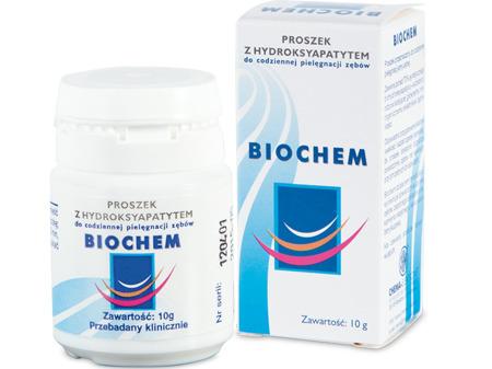 CHEMA Biochem - remineralizujący proszek do mycia zębów z hydroksyapatytem, 10 g