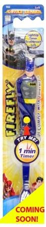 DR FRESH BATMAN - szczoteczka do mycia zębów dla dzieci ze świecącym timerem, od 3 roku życia