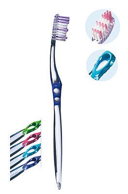 ELGYDIUM Inter - active - aktywnie czyszcząca szczoteczka do mycia zębów, medium