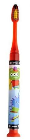 GUM Monster Light Up- szczoteczka do mycia zębów dla dzieci ze świeciącym timerem z serii Monster