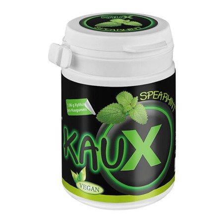 KAUX Xylitol SPEARMINT 40 szt -  gum z ksylitolem o smaku mięty kędzierzawej