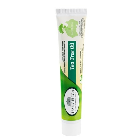 L`Angelica Olej Herbaciany - antybakteryjna pasta do mycia  zębów na bazie naturalnych składników, 75 ml