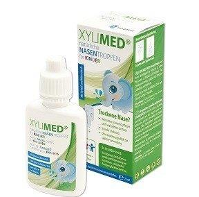 MIRADENT XYLIMED naturalne krople do nosa dla dzieci 22 ml