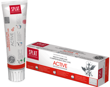 SPLAT Professional ACTIVE 100ml -  pasta na stany zapalne dziąseł