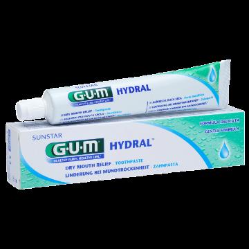 SUNSTAR GUM HYDRAL Toothpaste   nawilżająca pasta do mycia zębów przy suchości jamy ustnej, 75 ml