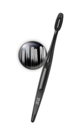 Splat Blakwood MEDIUM Toothbrush czarna wybielająca szczoteczka do mycia zębów z węglem aktywnym