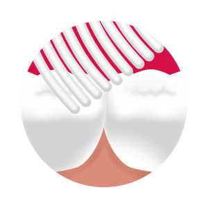 Splat Whitening Medium - szczoteczka inensywnie wybielająca do mycia zębów- fuksja