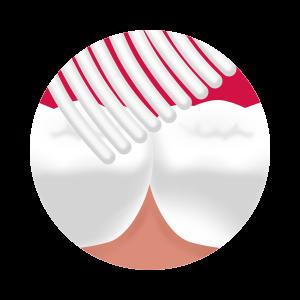 Splat Whitening Medium - szczoteczka inensywnie wybielająca do mycia zębów- niebieska