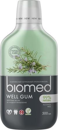 Splat biomed WELL GUM płyn do płukania jamy ustnej, profilaktyka dziąseł, 500 ml