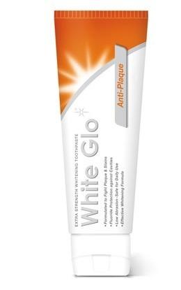 White Glo AntiPlaque - pasta wybielająca przeciw płytce nazębnej i kamieniowi nazębnemu , GRATIS szczoteczka do mycia zębów,100 ml